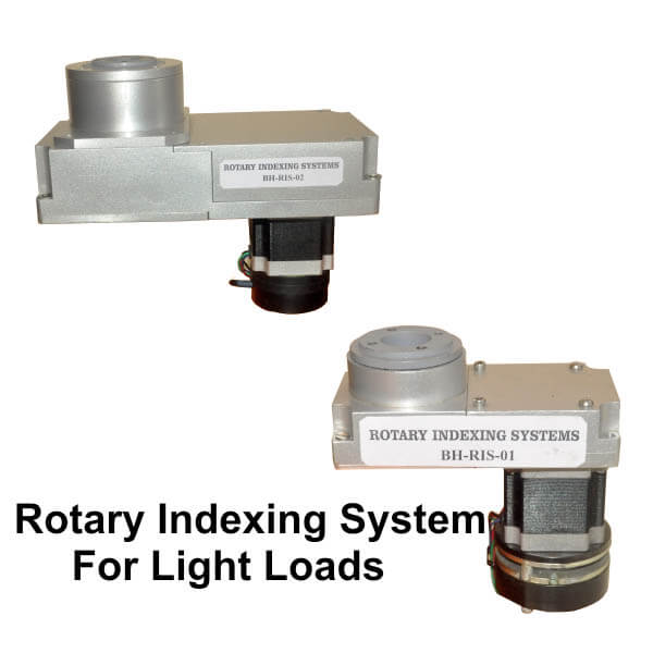 Rotary Indexing System For Light Loads