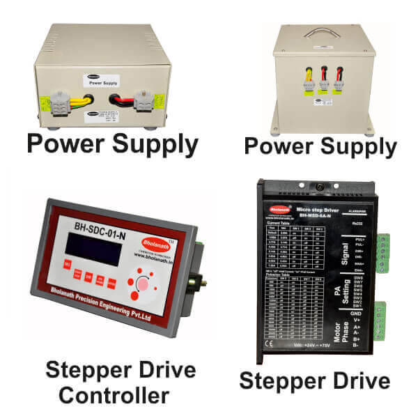 Stepper Drives, Stepper Drive Controllers & Power supplies