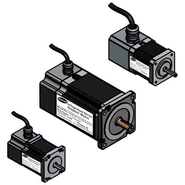 Integrated Drive Stepper Motors