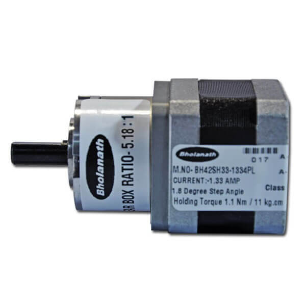 Planetary Geared Stepper Motors