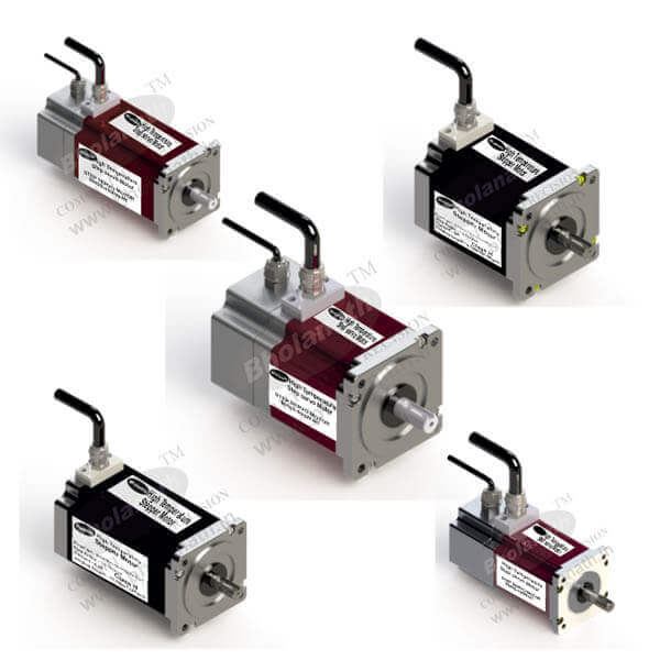 High Temperature Stepper Motors