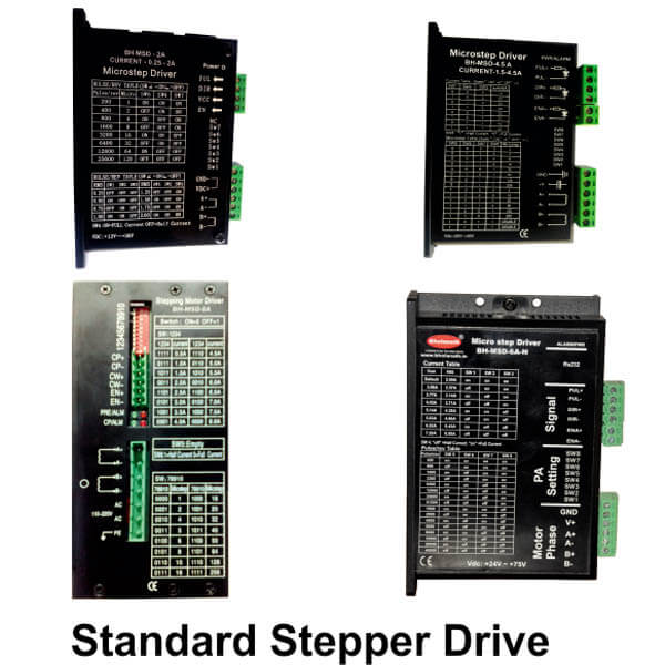 256 Micro Stepping Stepper Drive