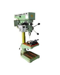 BH-DMA-02-M NEW MACHINE MODEL Size 20 mm Includes New Z AXIS DRILL TAP MACHINE, Helical Worm Geared Stepper Motor, Control Panel & Foot Switch