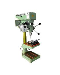 BH-DMA-04-M NEW MACHINE MODEL Size 32 mm Includes New Z AXIS DRILL TAP MACHINE, Helical Worm Geared Stepper Motor, Control Panel & Foot Switch