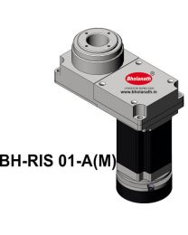 BH-RIS 01-A(M) ROTARY INDEXING SYSTEM DIMENSION 150MM X 78MM WITH BRAKE STEPPER MOTOR