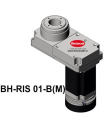 BH-RIS 01-B(M) ROTARY INDEXING SYSTEM DIMENSION 150MM X 78MM WITH BRAKE STEPPER MOTOR