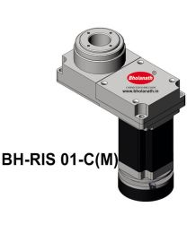 BH-RIS 01-C(M) ROTARY INDEXING SYSTEM DIMENSION 150MM X 78MM WITH BRAKE STEPPER MOTOR