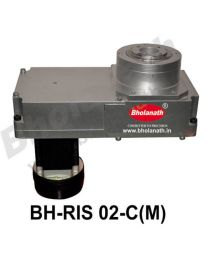 BH-RIS 02-C(M) ROTARY INDEXING SYSTEM DIMENSION 330MM X 170MM WITH BRAKE STEPPER MOTOR