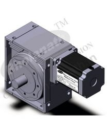 3300 kg-cm BIPOLAR HELICAL WORM GEARED STEPPER MOTOR (6.5 Amp)
