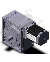4400 kg-cm BIPOLAR HELICAL WORM GEARED STEPPER MOTOR (6.5 Amp)