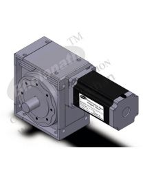 6000 kg-cm BIPOLAR HELICAL WORM GEARED STEPPER MOTOR (8 Amp)