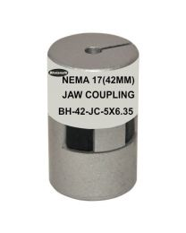 NEMA 17(42MM) JAW COUPLING BH42-JC-5X6.35