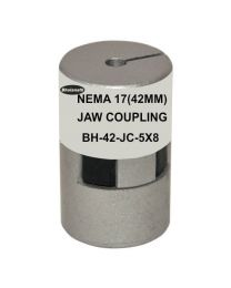 NEMA 17(42MM) JAW COUPLING BH42-JC-5X8