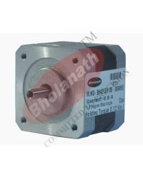 1.58 kg cm HOLLOW SHAFT STEPPER MOTOR (0.6 Amp Motor)