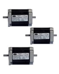 SET OF 3 NOS 18.9 kg cm BIPOLAR STEPPER MOTOR (2.8 Amp Double Shaft Motor)