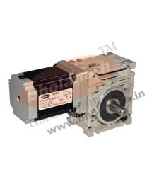 165 kg-cm BIPOLAR HELICAL WORM GEARED STEPPER MOTOR (2.8 Amp)