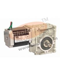 210 kg-cm BIPOLAR HELICAL WORM GEARED STEPPER MOTOR (2.8 Amp)