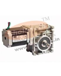 310 kg-cm BIPOLAR HELICAL WORM GEARED STEPPER MOTOR (2.8 Amp)