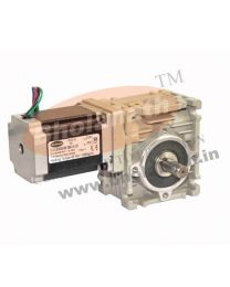 420 kg-cm BIPOLAR HELICAL WORM GEARED STEPPER MOTOR (2.8 Amp)