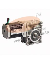 620 kg-cm BIPOLAR HELICAL WORM GEARED STEPPER MOTOR (2.8 Amp)