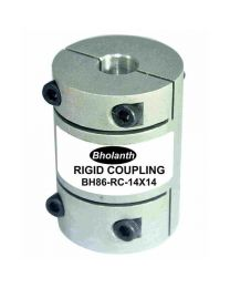 BHOLANATH STEP SERVO RIGID COUPLING BH86-RC14X14