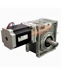 870 kg-cm BIPOLAR HELICAL WORM GEARED STEPPER MOTOR (6 Amp)