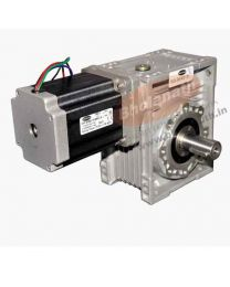 1740 kg-cm BIPOLAR HELICAL WORM GEARED STEPPER MOTOR (6 Amp)