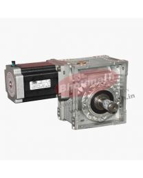 650 kg-cm BIPOLAR HELICAL WORM GEARED STEPPER MOTOR (6 Amp)