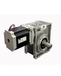 690 kg-cm BIPOLAR HELICAL WORM GEARED STEPPER MOTOR (5.5 Amp)