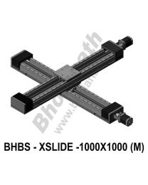 LINEAR XY HEAVY LOAD BALL SCREW SLIDES 1000X1000 MM WITH STEPPER MOTORS