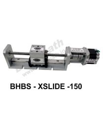 HEAVY LOAD LINEAR BALL SCREW SLIDE 150 MM WITH STEPPER MOTOR