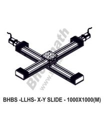 LINEAR XY LIGHT LOAD HIGH SPEED BALL SCREW SLIDES 1000X1000 MM WITH STEPPER MOTORS