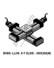 LINEAR XY LIGHT LOAD HIGH SPEED BALL SCREW SLIDES 300X300 MM WITH STEPPER MOTORS