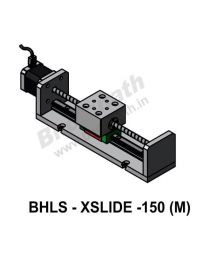 LINEAR LEAD SCREW SLIDE 150 MM WITH STEPPER MOTOR