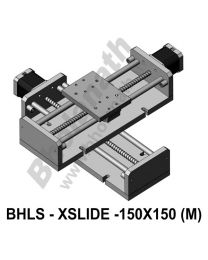 LINEAR XY LEAD SCREW SLIDES 150X150 MM WITH STEPPER MOTORS