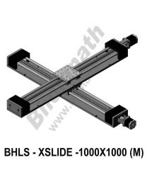 LINEAR XY LEAD SCREW SLIDES 1000X1000 MM WITH STEPPER MOTORS