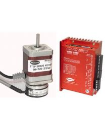 25 W MODBUS STEP SERVO INCLUDES MOTOR, ENCODER(1000 PPR), MODBUS DRIVE, CABLE AND CONNECTORS