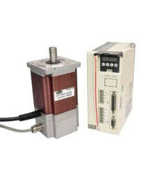 750 W PARAMETER SETTING & HIGH TORQUE STEP SERVO INCLUDES MOTOR, ENCODER(1000 PPR), PARAMETER SETTING DRIVE, CABLE AND CONNECTORS