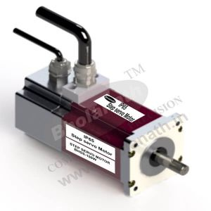 100 W IP 65 STEP SERVO INCLUDES MOTOR, ENCODER(1000 PPR), DIGITAL DRIVE, CABLE AND CONNECTORS
