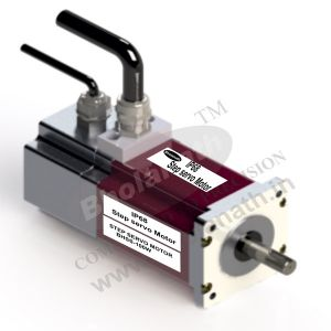100 W IP 68 STEP SERVO INCLUDES MOTOR, ENCODER(1000 PPR), DIGITAL DRIVE, CABLE AND CONNECTORS