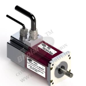 50 W IP 65 STEP SERVO INCLUDES MOTOR, ENCODER(1000 PPR), DIGITAL DRIVE, CABLE AND CONNECTORS